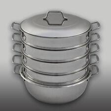 Dumpling Steamer Stainless Steel 6pc Mantyshnitsa Mantovarka Мантоварка Манты