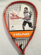 New Head Racquetball Racket Red Cps Demon 3 5/8