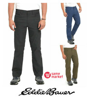 NEW!!! Eddie Bauer Men's Adventure Trek Pants Pick Size & Color VARIETY!!!