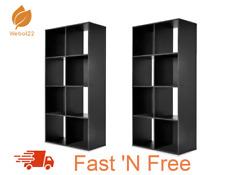 NEW 2 X 8 Cube Storage Shelf DIY Cabinet Cupboard Organizer Bookshelf Display