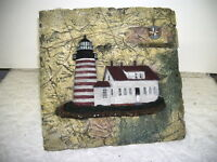 Lighthouse Tile Trivet Maine