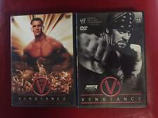 WWE VENGEANCE  Hartford 7/11/04 Denver 7/27/03  DVD  LOT OF 2