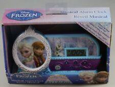 Disney Frozen Elsa Anna & Olaf Night Music Alarm Clock Let It Go Song New