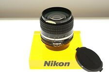 Nikon Nikkor 35mm f/2 Ai-s fast wide lens. EXC++ condition. Classic!