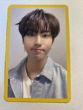 Stray Kids Cle Yellow Wood Yellow Border Han Jisung Official Photocard
