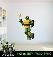 RAPHAEL PIZZA TEENAGE MUTANT NINJA TURTLE WALL ART GRAPHIC STICKER DECOR VINYL