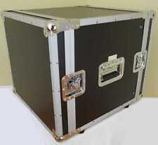 """10 HE 19"""" Rack Flight Case - PA DJ Studio Rack, 43 cm tief, Double Door Server"""