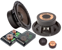 "Ground Zero GZUC 650SQ-II 6.5"" 16.5cm 2 way car component speakers"