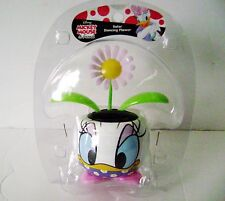 Solar Powered Dancing Sun Flower Flip Flap Plant In Daisy Duck Pot
