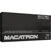 MACATRON 108cap SCITEC SUBE LA TESTOSTERONA SALUD SEXUAL CON MACA DAA Y TESTOFEN