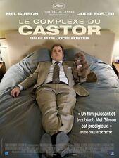 Affiche Pliée 120x160cm LE COMPLEXE DU CASTOR (2011) Mel Gibson, Foster TBE