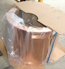 "New 20"" Wide Copper Roofing Sheet 1000 lbs Spools 16 oz"