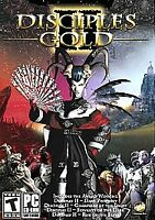 Disciples II Gold PC CD-ROM Game 4 Discs Dark Prophecy Rise Of The Elves 2006