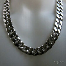 EMPEROR MEN'S NECKLACE CHAIN .925 STERLING SILVER 30 INCHES