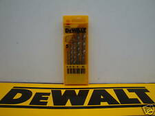 DEWALT DT6952 5PCE BRICK & MASONARY DRILL BIT SET IN CASSETTE
