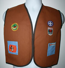 SCOUTS CANADA BEAVERS BC Yukon Fraser Valley Region Vest Boys Uniform sz Medium