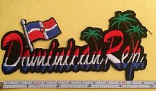 DOMINICAN REPUBLIC REPUBLICA DOMINICANA IRON ON SEW ON EMBROIDERED PATCH