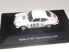 Alpine A 106 Tour de france 1958  1/43
