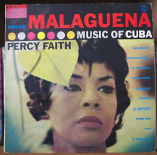 PERCY FAITH MALAGUENA MUSIC OF CUBA CHEESECAKE 25cm FRENCH LP PHILIPS