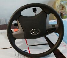 2011 Toyota Camry LE Steering Wheel Module Trim w/ key and signal sticks