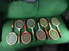 Assorted Wooden Tennis Rackets