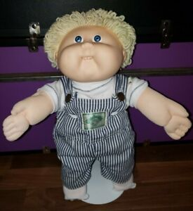 Cabbage Patch Kid ☆Rare VHTF☆ Engineer Overalls  🚉  Clothes - DOLL NOT INCLUDED