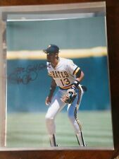 Autographed Signed 8x10 Photo Jose Lind Pittsburgh Pirates 1992 Gold Glove