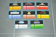 MB Spiel Hotel : Komplettset Der 8 -karten Titel Von Property