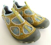 Merrill Mangrove Citrus/Aqua Womens Size 8.5 Slip On Casual Walking Flat Shoes
