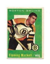 1959-60 Topps:#19 Fleming Mackell,Bruins