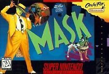 The Mask Super Nintendo Entertainment System SNES GAME ONLY with cosmetic flaws