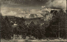 Carminata Kematen Italien Cartolina Italia ~1920/30 gelaufen Panorama sul Renon