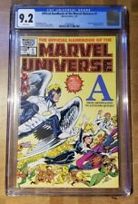 THE OFFICIAL HANDBOOK OF THE MARVEL UNIVERSE #1 CGC 9.2