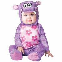 Hippo Baby Costume Halloween Fancy Dress SIZE 12-18 NEW
