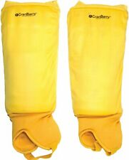 Grays CranBarry Field Hockey Shin Guards Adult Yellow Sports Protection