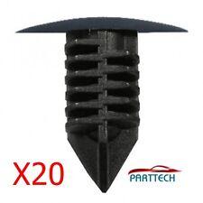 X20 RENAULT MEGANE CLIO SCENIC WHEEL ARCH COVER FASTENER CLIPS TRIM