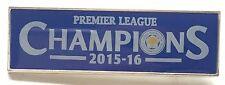 Leicester City F.C. Premier League Champions 2015/2016 Enamel Pin Badge Official