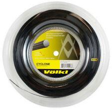 VOLKL CYCLONE TENNIS STRING - 1.20MM 18G - 200M REEL - BLACK - RRP £120