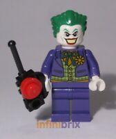 Lego The Joker Minifigure from Sets 6857 + 6863 Batman Super Heroes NEW sh005