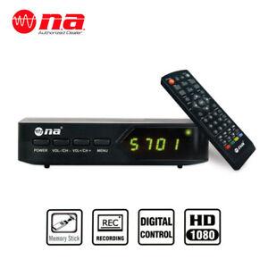HD Digital TV Converter Box ATSC Recorder USB HDMI 1080P Multimedia Player DVR