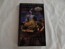2004 Indianapolis 500 Record Book! NEW! RARE! ONLY COPY ON eBAY!