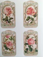 1 Din A4 Bogen Vintage W4 Potchvorlagen zum potchen / übertrage auf Holz, Stoff