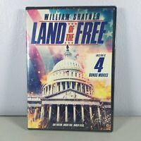 Land of the Free DVD Movie With 4 Bonus Movies New Sealed 2016