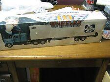 IML Model Semi-Truck Freightliner Whiskey Decanter - Interstate Motor Line- RARE