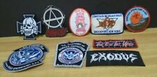 Mixed Patch lot of 9 Music Anarchy Care Bear USA Services Boy Scouts 062519DBT3
