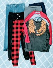 7 piece lot of Girls Clothing, Size XL, 14/16 Cat & Jack + Stranger Things