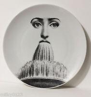 Italian Designer PIERO FORNASETTI,Vintage Plate,'Tema e Variazioni Motive 214