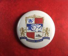 Pin Button Badge CITY OF NIAGARA FALLS CANADA.