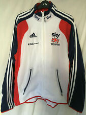 "NEW BNWT adidias SKY team GB sweat shirt track suit top Ital 8  44"" / 46"""
