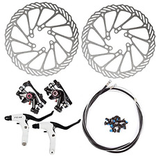 AFTERPARTZ NV-5 G3/ HS1 Bike Disc Brake Kit Front and Rear 160mm Caliper Rotor B